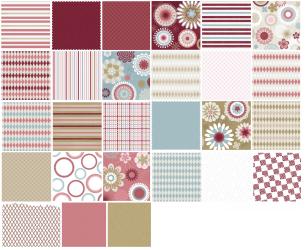 Bloomin Cute - Scrapbooking Papers