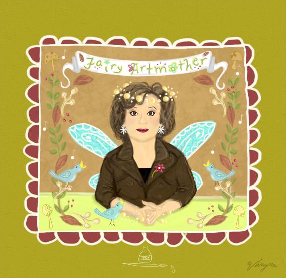 Fairy Artmother - Portrait
