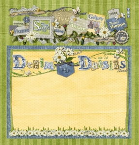 Denim & Daisies Commissioned Web Page - Web
