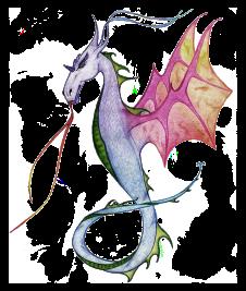 Fantasy Dragon - Pencil Sketch