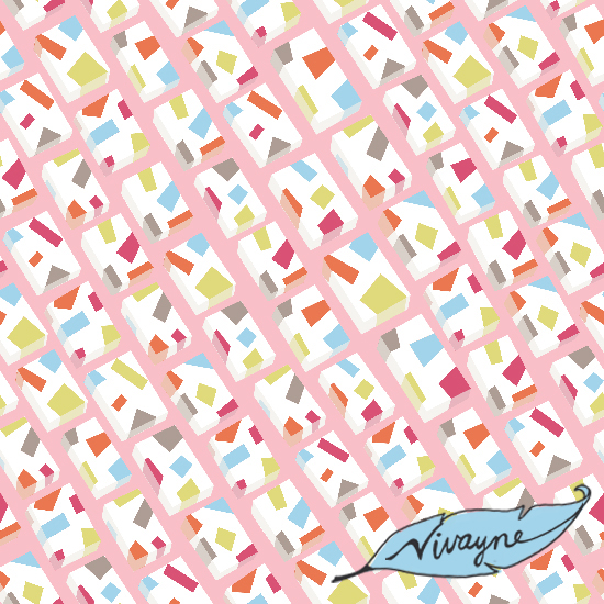 Milk Bars - Repeating Surface Pattern