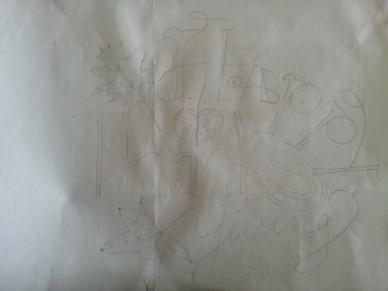 Vivayne - Hard to See Process/Sketch