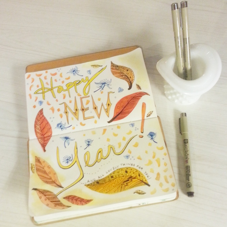 Journal - Happy New Year 2015