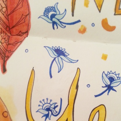 Journal - Happy New Year 2015 Detail