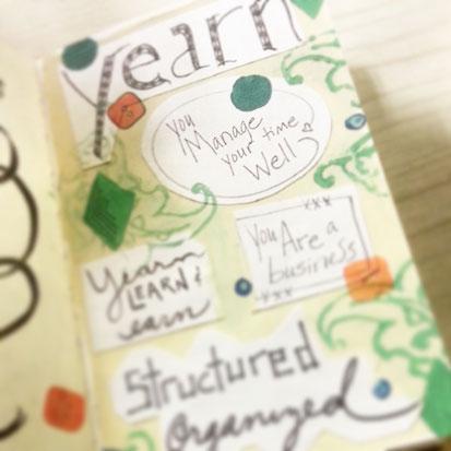 Journal - Yearn, Earn, focus