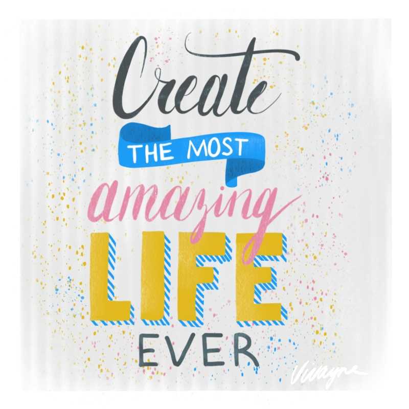 Vivayne create the most amazing life ever