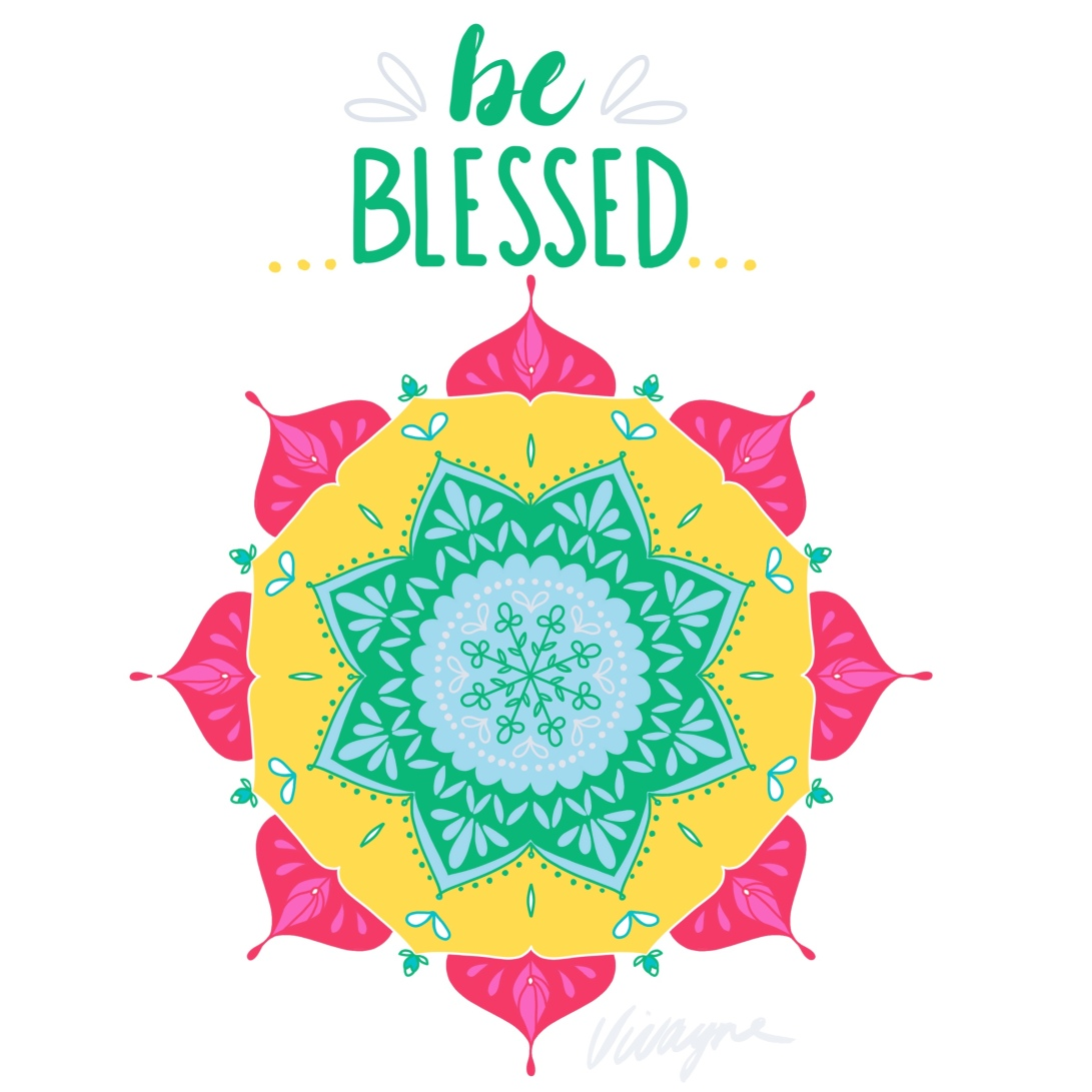 Vivayne be blessed mandala