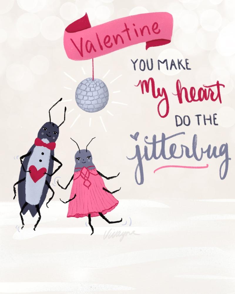 Vivayne jitterbug valentine