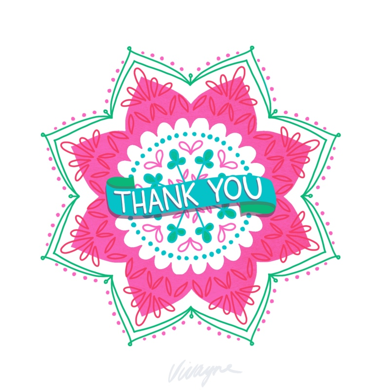 Vivayne mandala thank you