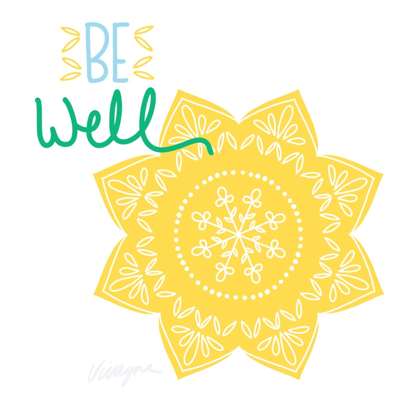 Vivayne be well mandala