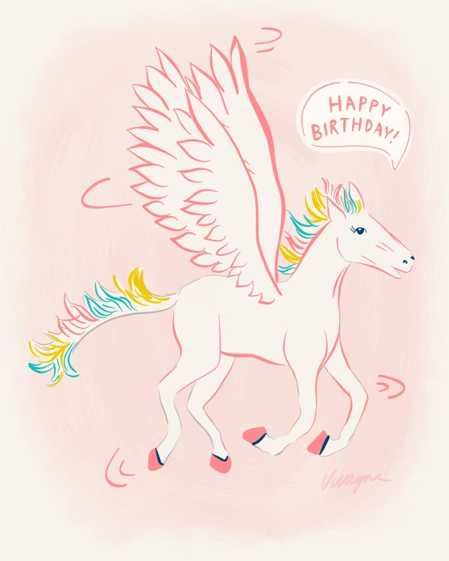 Happy birthday pegasus