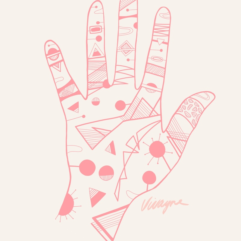 Holla Collection - Quest Hand Illustration